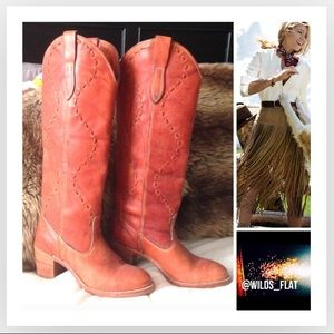 Shoes - •CowGirl• Leather Boots